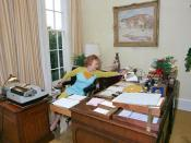 Rose Mary Woods (1917-2005), Richard Nixon's secretary.