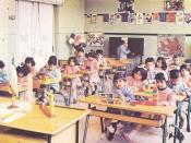 English: Preschool education in Iran