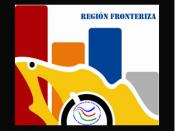 Español: La Frontera Norte de México tiene una extensión de poco más de 3,000 km., y comprende seis estados de la República Mexicana: Baja California, Sonora, Coahuila, Nuevo León, Chihuahua y Tamaulipas; y cuatro de los Estados Unidos: California, Arizon