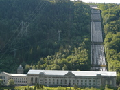 Nederlands: Waterkrachtcentrale Vemork in Rjukan