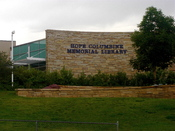 English: Hope Columbine Memorial Library at Columbine High School in Columbine, Colorado.