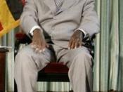 Ugandan President Yoweri Museveni, Entebbe, July 2003