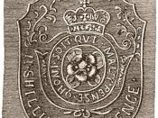 Image of a Stamp Act stamping