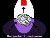 en: Diagram of hard problem of consciousness, English version. ja:意識の難しい問題、英語版。