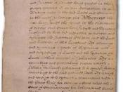 This is a low-resolution scan or photo of the English Bill of Rights of 1689.
