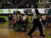 003727 - Baloncesto en silla de ruedas