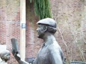 Ken Kesey statue,