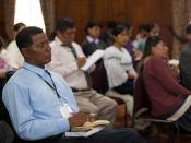 Dr. Jaime Galarza ofrece conferencia a los Nuevos Funcionarios y Funcionarias para el Servicio Exterior