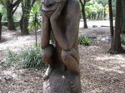 New Guinea Statue