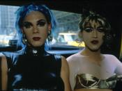 Nan Goldin, Misty and Jimmy Paulette in a Taxi, NYC, 1991, 30 x 40 inches