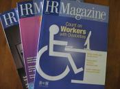 A few issues of SHRM's monthly publication HR Magazine.