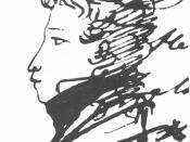 English: Russian poet Alexander Pushkin (1799-1837) Русский: Русский писатель и поэт Пушкин, Александр Сергеевич (1799-1837), Институт русской литературы, Санкт-Петербург