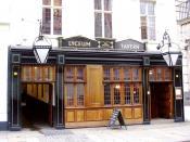 Lyceum Tavern, Strand, WC2