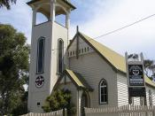 The Uniting Church at Narooma, New South Wales built 1914