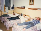 Hostel In Florence, August 1995