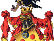 English: The heraldic achievement of the House of de' Medici.