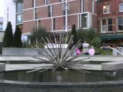 English: Nelson Mandella Gardens in Millennium Square, Leeds, UK