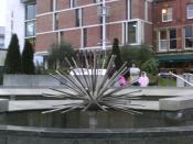 English: Nelson Mandella Gardens in Millennium Square, Leeds, UK