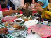 English: Eid Ul-Fitr meal