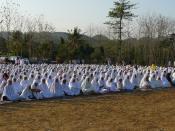 English: Eid ul-fitr prayer in Indonesia Bahasa Indonesia: Shalat Idul Fitri