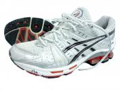A pair of ASICS stability running shoes, model GEL-Kinsei