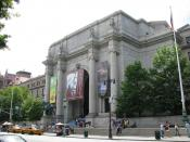 English: Front view of the American Museum of Natural History
