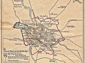 Plan rome middle ages
