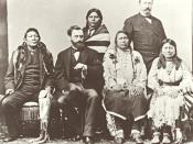 Ute delegation in Washington DC in 1880. Chipeta is seated in the front row beside her husband