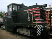GE 44-ton Switcher (CSRR #15)