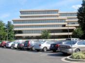 English: Marriott International headquarters in Bethesda. Photographed by user Coolcaesar on August 22, 2008.