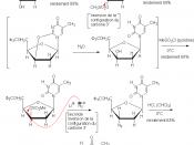 Français : Suite réactionnelle et mécanisme de la synthèse de l'AZT Catégorie:Image de chimie