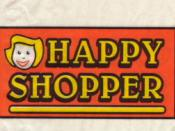 The original Happy Shopper logo