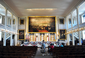 English: Faneuil Hall Meeting Hall Boston Massachusetts 2010