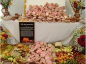 Español: tradicional ofrenda del dia de los muertos en el estado de mexico