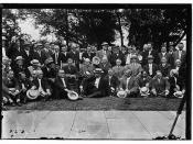 Congressmen visit Wilson  (LOC)
