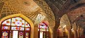English: The interiour of the Nasir-ol-molk mosque in Shiraz, Iran Deutsch: Das Innere der Nasir-ol-molk Moschee in Schiraz, Iran Français : L´intérieur de la mosquée Nasir-ol-molk à Chiraz, Iran