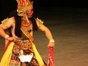Prambanan Ramayana ballet, Ravana