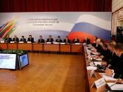 Meeting of the Commission for Modernisation and Technological Development of Russia's Economy.