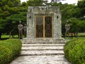 Omar Torrijos Mausoleum in Amador, Panama City, in the former Canal Zone.