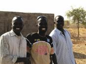 Ahmed (center) and some other guys