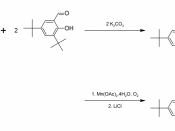 English: Synthesis of (R,R)-Jacobsen's catalyst Hanson, John. (2001).
