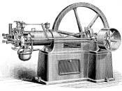 An American internal combustion otto engine