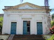 English: Positivist Temple in Porto Alegre, Brazil