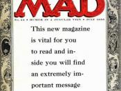 With issue 24 (July 1955), Mad switched to a magazine format. The