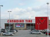 English: Canadian Tire store