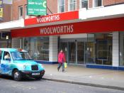English: Woolies no more Romford Woolworths.Another name extinct from the high street, like C&A,Littlewoods,Dixons etc...