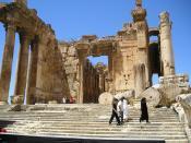 Entrance into the Bacchus Temple