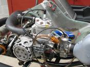 Vortex kart engine