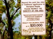 Some areas of deep cultural significance to the indigenous inhabitants are off-limits even to those with permission to travel across Arnhem Land