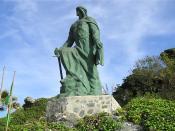 English: Statue of Abd ar-Rahman I. Almuñécar, Spain. Português: Estátua de Abderramão I. Almuñécar, Espanha.